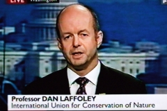 Dan on BBC News, December 2009